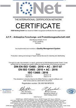AFP IQNet 13485