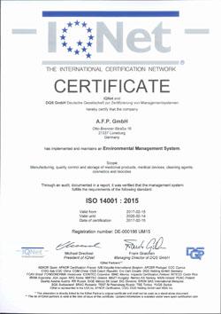 AFP IQNet 14001