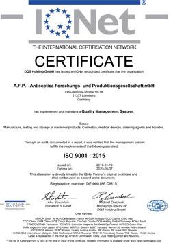AFP IQNet 9001