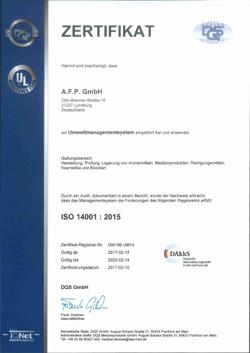 AFP ISO 14001 DE