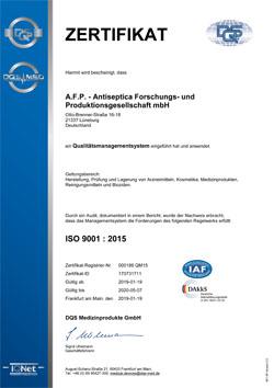 AFP ISO 9001 DE