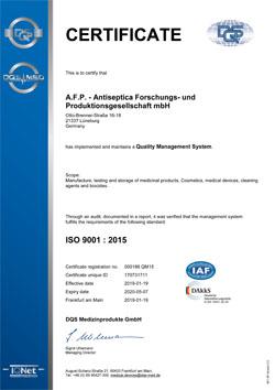 AFP ISO 9001 EN