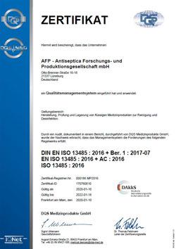 AFP ISO 13485 DE